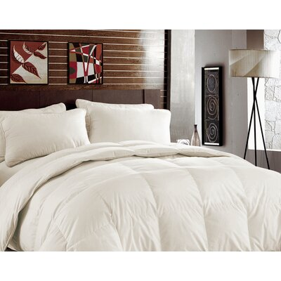 Rayon from Bamboo Heavyweight Down Alternative Comforter Color: Ivory
