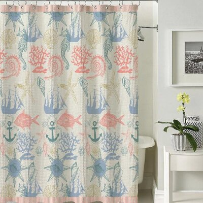 Bucharest Shower Curtain Bucharest Coral