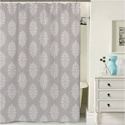 Oslo Shower Curtain Color: Gray