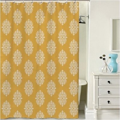 Oslo Shower Curtain Color: Gold