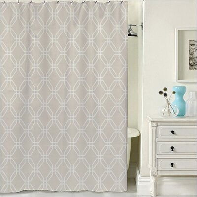 Porto Shower Curtain Color: Linen