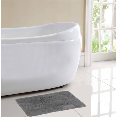 Ibiza Bath Rug Color: Gray