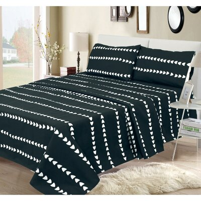 Binghamton 300 Thread Count 100% Cotton Sheet Set Size: Twin