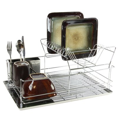Stainless Iron Shelf Dish Rack