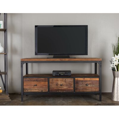 Reclaimed 3-Drawer Media Console