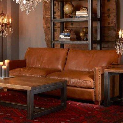 Amesbury Leather Sofa Upholstery: Rider/Old Saddle Nut