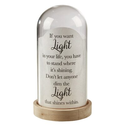 Light In Life Decorative Globe