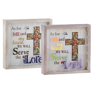 Jim Shore Joshua 24:15 Decorative Box