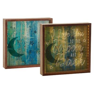 Love You Moon Decorative Box