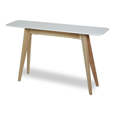 Blade Console Table Base Finish: Natural