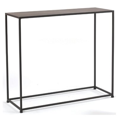 Woodbury Console Table in Coco