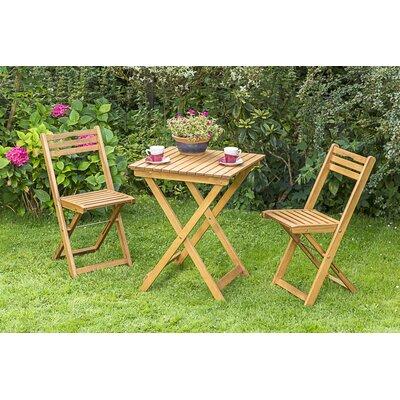 2-Sitzer Balkonset Almond | Garten > Balkon > Balkon-Sets | Naturalbrown | Massivholz - Rattan | Lynton Garden