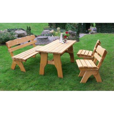 Naturalbrown Massivholz Gartenmobel Set Online Kaufen Mobel