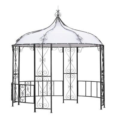 3 m x 3 m Pavillon Burma aus Metall   Garten > Pavillons   Pulverbeschichtet - Metall - Kunststoff - Polyester   Lynton Garden