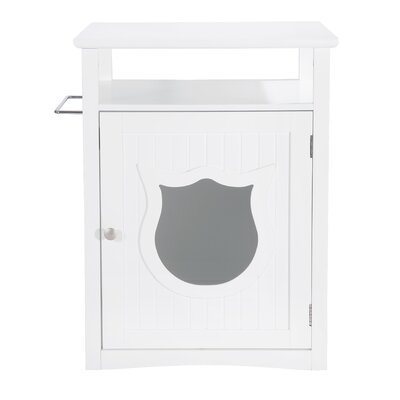 Kitty Cat Litter Box PH1001-wht