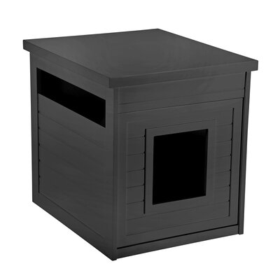 Arena Kitty Litter Box Color: Black
