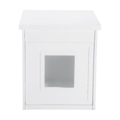 Arena Kitty Litter Box Color: White