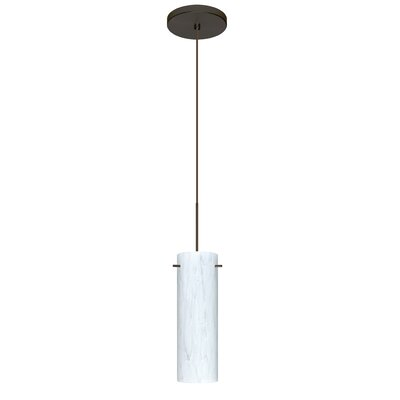 Copa 1 Integrated Bulb Mini Pendant Finish: Bronze, Bulb Type: LED