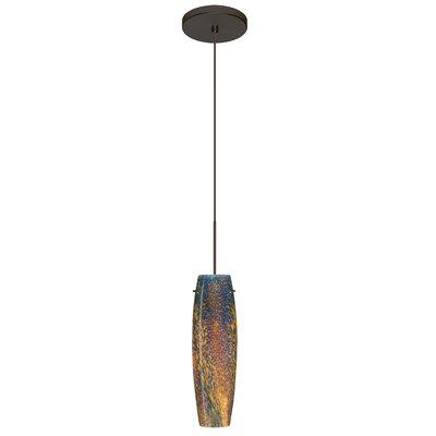 Tutu 1 LED Integrated Bulb Mini Pendant Finish: Bronze, Bulb Type: Halogen