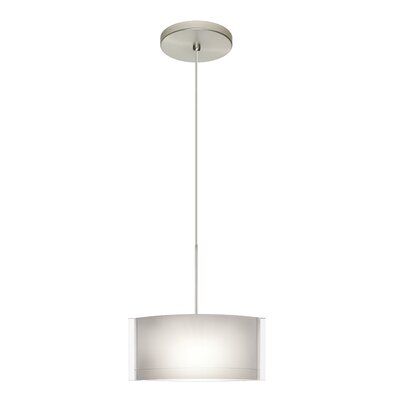Jodi 1-Light Mini Pendant Finish: Satin Nickel, Bulb Type: LED
