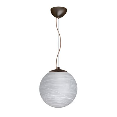 Callisto 1-Light Pendant Finish: Bronze