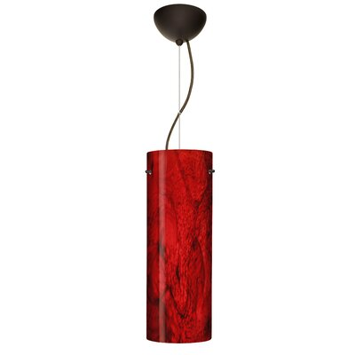 Tondo 1-Light Pendant Finish: Bronze