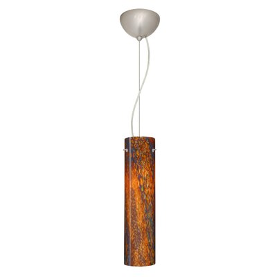 Stilo 1-Light Mini Pendant Bulb Type: LED, Finish: Satin Nickel