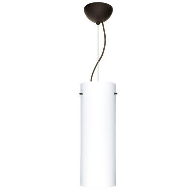 Tondo 1-Light Pendant Finish: Brushed Bronze