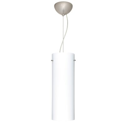 Tondo 1-Light Pendant Finish: Satin Nickel