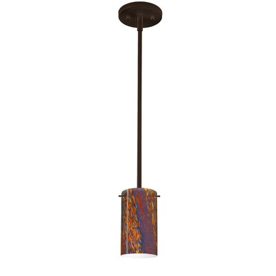 Stilo 1-Light Mini Pendant Finish: Bronze, Bulb Type: LED
