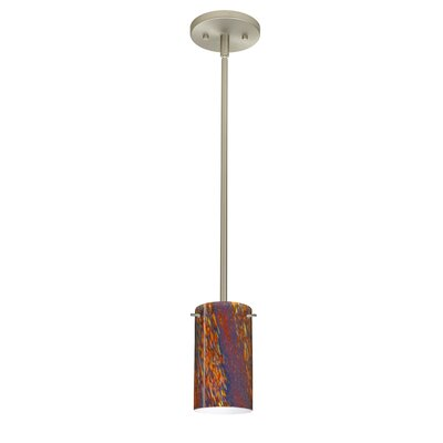 Stilo 1-Light Mini Pendant Finish: Satin Nickel, Bulb Type: LED