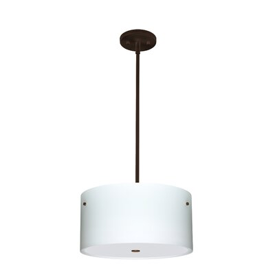 Tamburo 3 Light LED Drum Pendant 1KT-400800-LED-BR