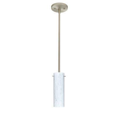 Copa 1-Light Mini Pendant Finish: Satin Nickel, Bulb Type: LED