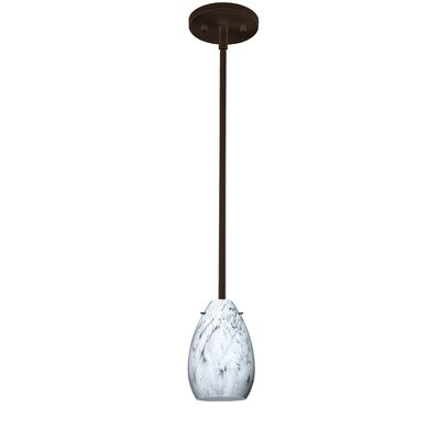 Pera 1-Light Mini Pendant Finish: Bronze