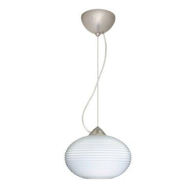 Pape 1-Light Globe Pendant Finish: Satin Nickel