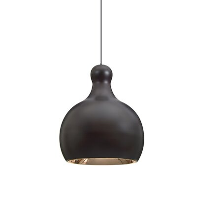 Felix 1-Light Mini Pendant Finish: Brushed Bronze