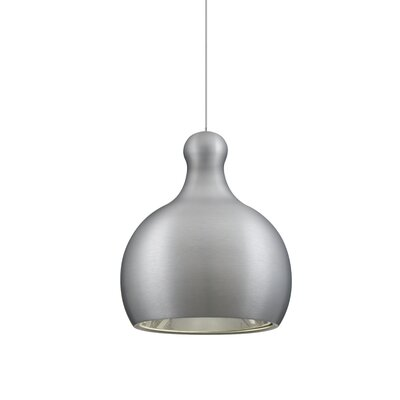Felix 1-Light Mini Pendant Finish: Satin Nickel