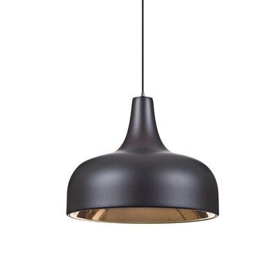Persia 1-Light Mini Pendant Finish: Brushed Bronze