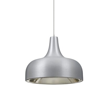Persia 1-Light Mini Pendant Finish: Satin Nickel