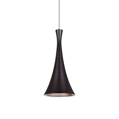 Rondo 1-Light Mini Pendant Finish: Brushed Bronze