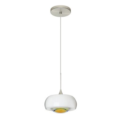 Focus 1-Light Mini Pendant Finish: Satin Nickel