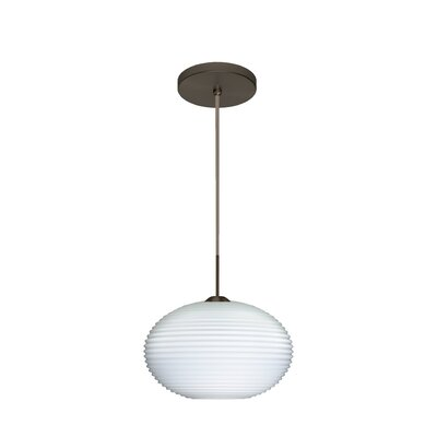 Pape 1-Light Globe Pendant Finish: Brushed Bronze