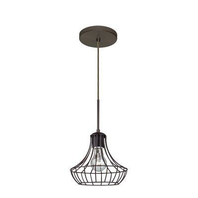 Spezza 1-Light Pendant Finish: Brushed Bronze