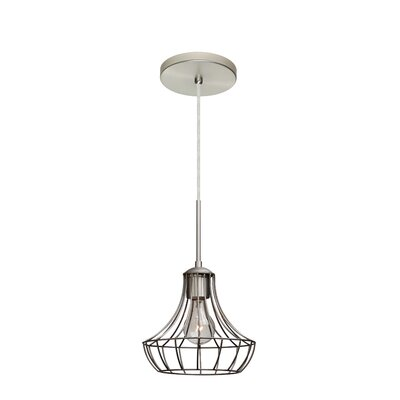 Spezza 1-Light Pendant Finish: Satin Nickel