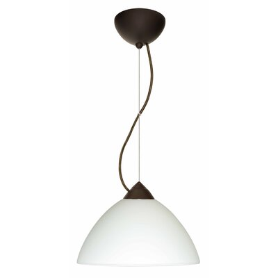 Tessa 1-Light Bowl Pendant Bulb Type: LED