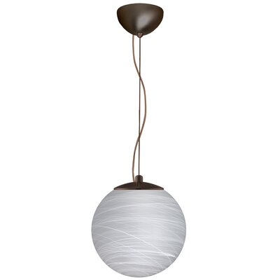 Callisto 1-Light Globe Pendant Finish: Brushed Bronze