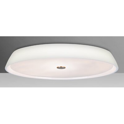 Speier 2-Light Flush Mount Shade Color: Opal