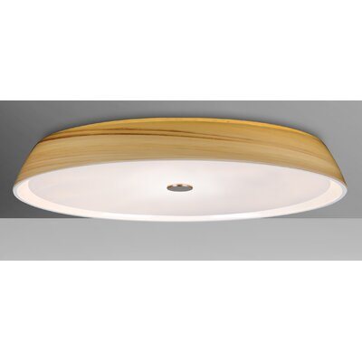 Speier 2-Light Flush Mount Shade Color: Cream