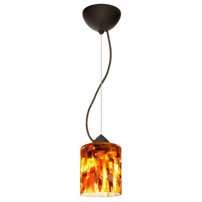 Falla 1-Light Mini Pendant Finish: Brushed Bronze