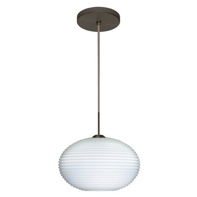 Pape 1-Light Mini Globe Pendant Finish: Brushed Bronze